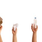 Tres amigos de la limpieza